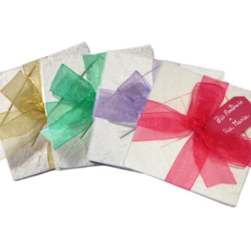 Partecipazione origami colori portfolio