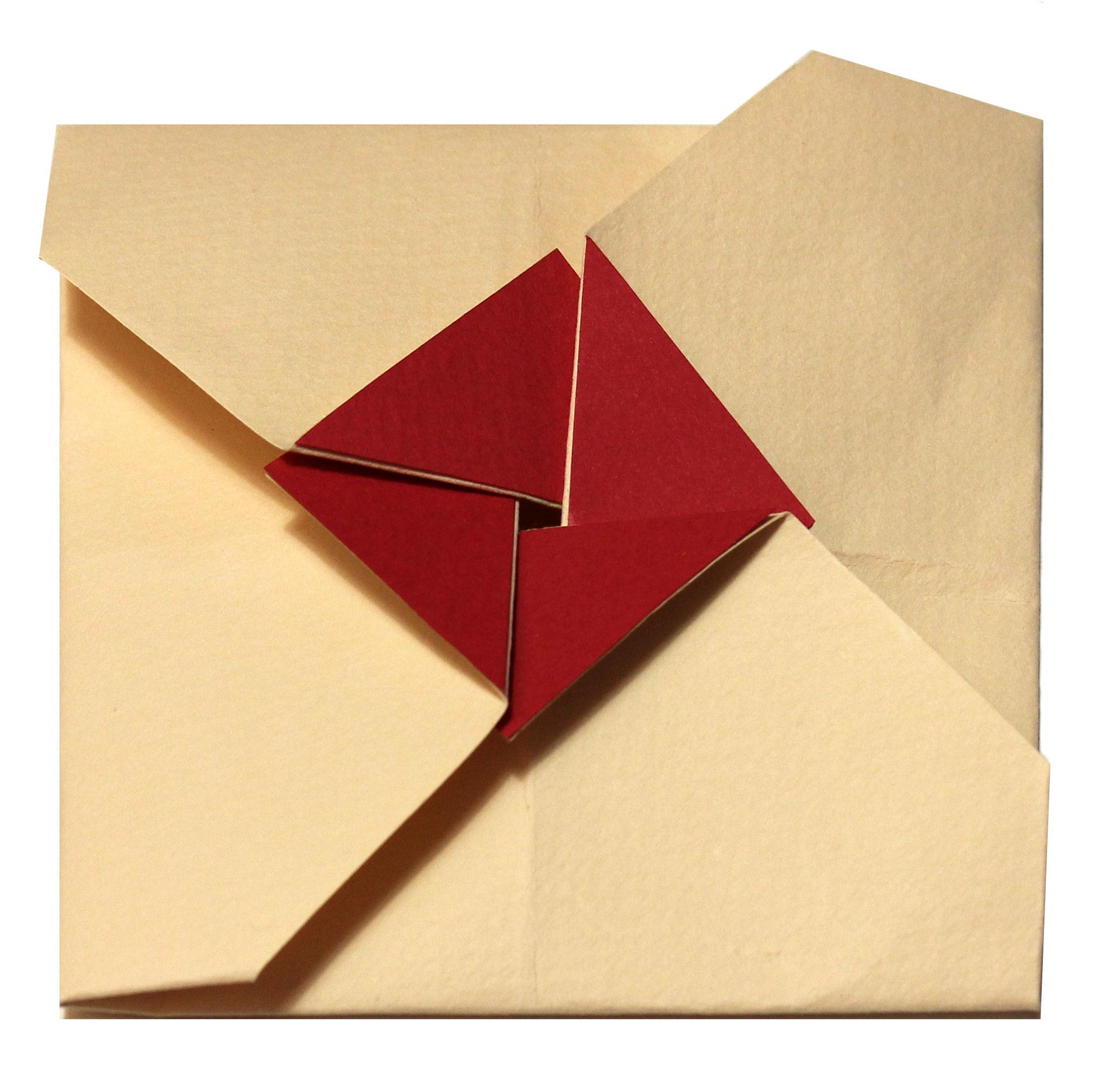 Preferenza Busta origami quadrata - Nozzeggiando MW04