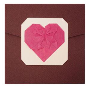 Cuore-Origami Fronte