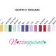 Nastri Organza Portfolio cartella colori