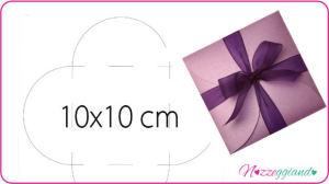 Petali Copertina sagoma 10x 10