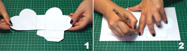 Scheda 1  -  Portaconfetti Cuore