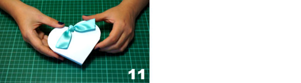 Scheda 6  -  Portaconfetti Cuore