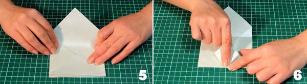 Scheda 3 _  Busta Origami con chiusura quadrato