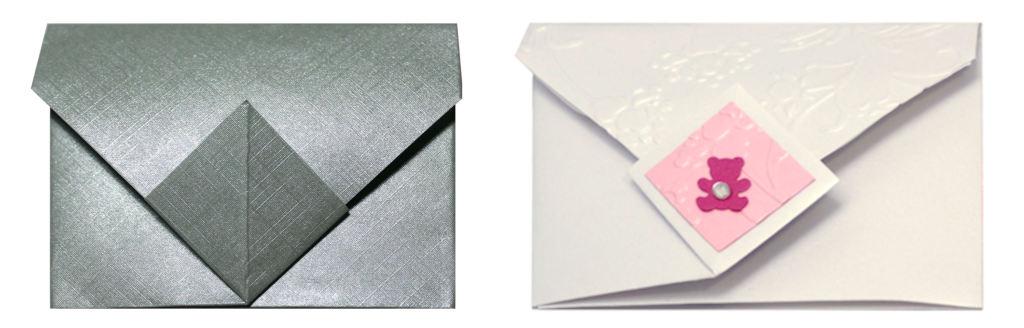 busta origami doppia