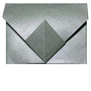 busta origami quadrata