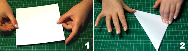 Scheda 1 - Cono Portariso Origami