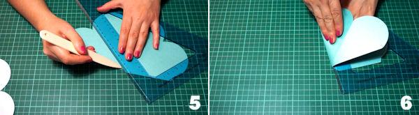 Scheda 3  -  Portaconfetti Piramide Petali