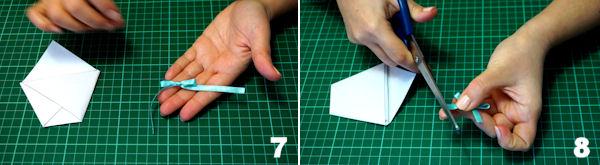 Scheda 4 - Cono Portariso Origami