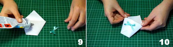 Scheda 5 - Cono Portariso Origami