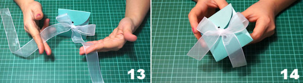 Scheda 7  -  Portaconfetti Piramide Petali