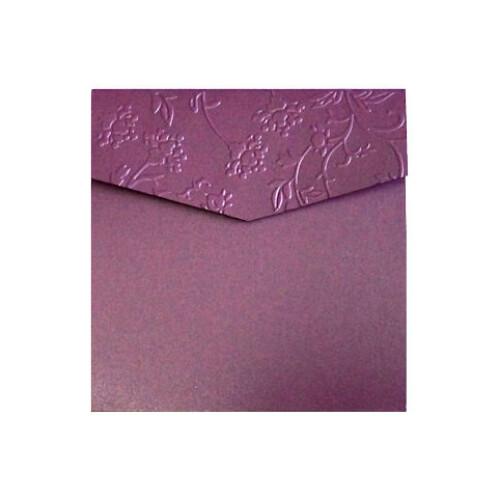Busta quadrata con tasca Iris Esterno Portfolio