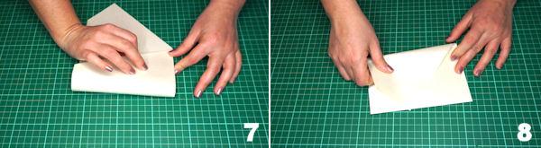 Scheda 4  -  Busta Origami punta Asimmetrica