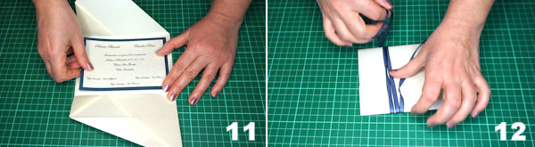 Scheda 6  -  Busta Origami punta Asimmetrica