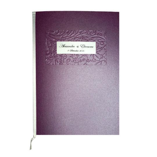 Libretto Messa Elegante Quadrato
