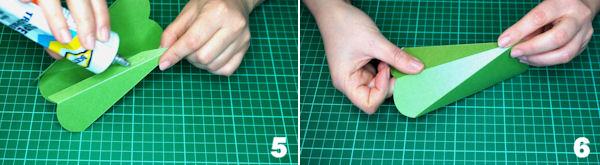 Scheda 3  -  Portaconfetti cuore allungato