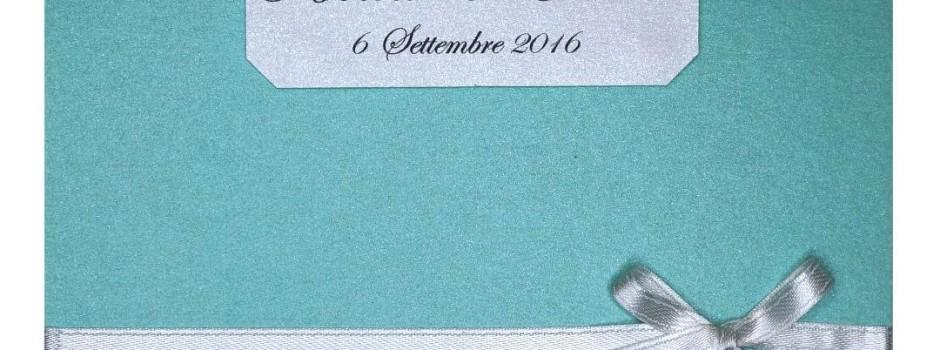 Partecipazioni di nozze Tiffany