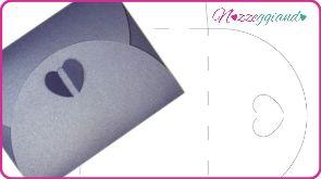 Sagome e Template - Busta chiusura Farfalla