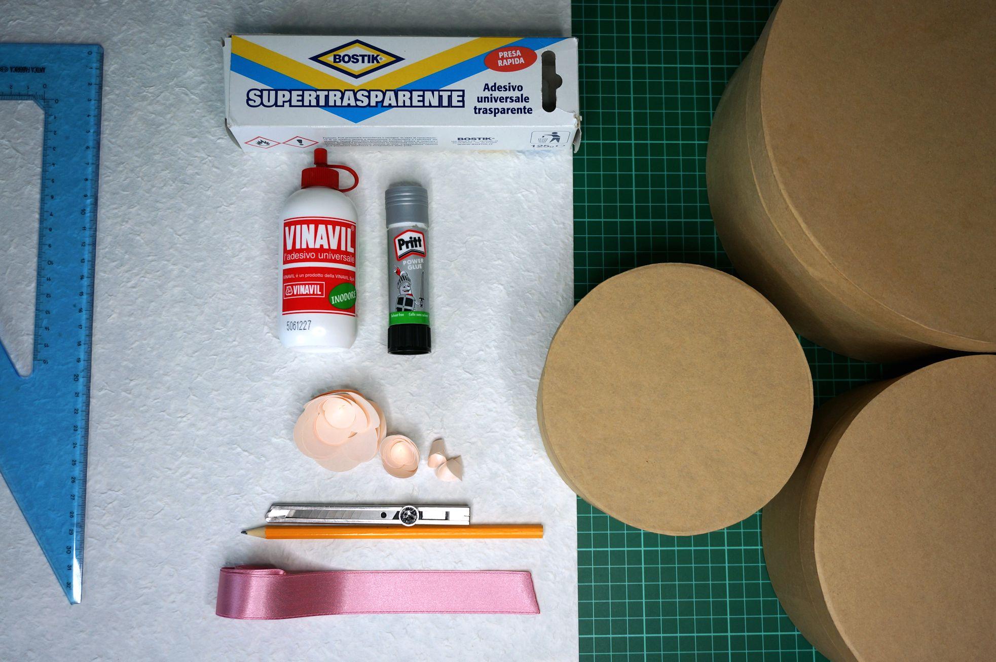 materiali-torta-portabuste