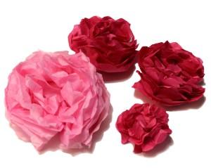 Fiori-di-carta-tessuto-Rosa-Fronte
